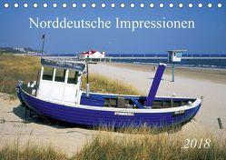 Norddeutsche Impressionen (Tischkalender 2018 DIN A5 quer) von Reupert,  Bildarchiv