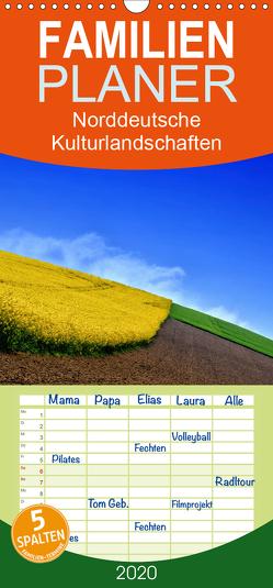 Norddeutsche Kulturlandschaften – Familienplaner hoch (Wandkalender 2020 , 21 cm x 45 cm, hoch) von Gerken,  Klaus