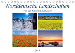 Norddeutsche Landschaften (Tischkalender 2019 DIN A5 quer) von Hasche,  Joachim