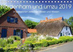 Nordenham und umzu 2019. Impressionen zwischen Weser und Wiesen (Tischkalender 2019 DIN A5 quer) von Lehmann,  Steffani