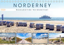 NORDERNEY Bezaubernde Nordseeinsel (Tischkalender 2020 DIN A5 quer) von Dreegmeyer,  Andrea