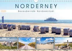 NORDERNEY Bezaubernde Nordseeinsel (Wandkalender 2020 DIN A4 quer) von Dreegmeyer,  Andrea