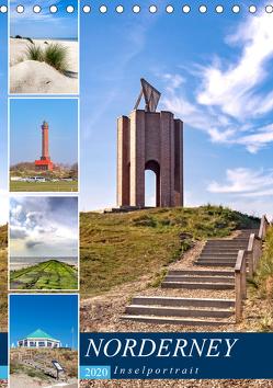 Norderney Inselportrait (Tischkalender 2020 DIN A5 hoch) von Dreegmeyer,  Andrea