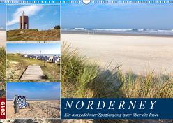 Norderney Spaziergang (Wandkalender 2019 DIN A3 quer) von Dreegmeyer,  Andrea