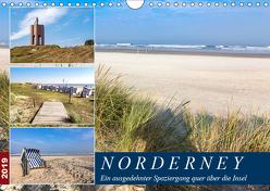 Norderney Spaziergang (Wandkalender 2019 DIN A4 quer) von Dreegmeyer,  Andrea