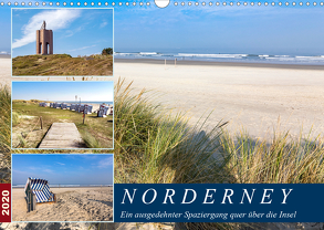 Norderney Spaziergang (Wandkalender 2020 DIN A3 quer) von Dreegmeyer,  Andrea