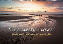 Nordfriesische Inselwelt – Bunte Watt- und Wolkenlandschaften (Wandkalender 2019 DIN A2 quer) von Daum,  Lars
