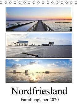 Nordfriesland – Familienplaner (Tischkalender 2020 DIN A5 hoch) von Hoppe,  Franziska