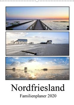 Nordfriesland – Familienplaner (Wandkalender 2020 DIN A2 hoch) von Hoppe,  Franziska