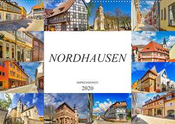Nordhausen Impressionen (Wandkalender 2020 DIN A2 quer) von Meutzner,  Dirk