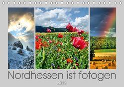 Nordhessen ist fotogen (Tischkalender 2019 DIN A5 quer) von Löwer,  Sabine