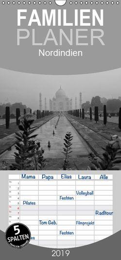 Nordindien – Familienplaner hoch (Wandkalender 2019 , 21 cm x 45 cm, hoch) von Reuke,  Sabine