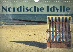 Nordische Idylle (Wandkalender 2019 DIN A4 quer) von Hultsch,  Heike