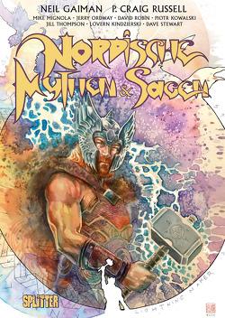 Nordische Mythen und Sagen (Graphic Novel. Band 1 von Gaiman,  Neil, Russell,  P. Craig