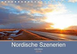 Nordische Szenerien (Tischkalender 2018 DIN A5 quer) von Webeler,  Janita