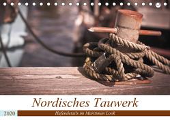 Nordisches Tauwerk – Hafendetails im Maritimen Look (Tischkalender 2020 DIN A5 quer) von Langowski,  Stephanie