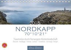 Nordkapp – Norwegens Küstenlandschaft (Tischkalender 2018 DIN A5 quer) von Pinkoss,  Oliver