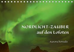 Nordlicht-Zauber auf den Lofoten. Aurora borealisCH-Version (Tischkalender 2020 DIN A5 quer) von GUGIGEI
