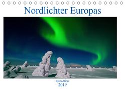 Nordlichter Europas (Tischkalender 2019 DIN A5 quer) von Alicke,  Björn