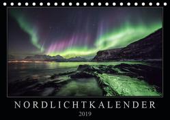 Nordlichtkalender (Tischkalender 2019 DIN A5 quer) von Worm,  Sebastian
