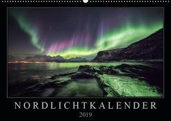 Nordlichtkalender (Wandkalender 2019 DIN A2 quer) von Worm,  Sebastian