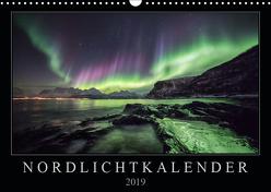 Nordlichtkalender (Wandkalender 2019 DIN A3 quer) von Worm,  Sebastian