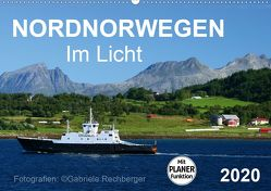 Nordnorwegen im Licht (Wandkalender 2020 DIN A2 quer) von Rechberger,  Gabriele