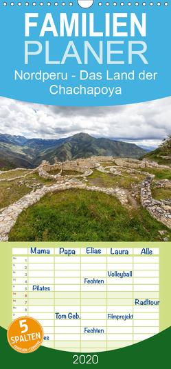 Nordperu – Das Land der Chachapoya – Familienplaner hoch (Wandkalender 2020 , 21 cm x 45 cm, hoch) von Knödler,  Stephan