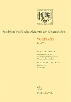 Nordrhein-Westfälische Akademie der Wissenschaften von Parthier,  Benno