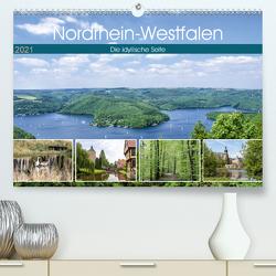 Nordrhein-Westfalen – Die idyllische Seite (Premium, hochwertiger DIN A2 Wandkalender 2021, Kunstdruck in Hochglanz) von Becker,  Thomas