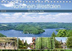 Nordrhein-Westfalen – Die idyllische Seite (Tischkalender 2018 DIN A5 quer) von Becker,  Thomas