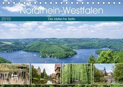 Nordrhein-Westfalen – Die idyllische Seite (Tischkalender 2019 DIN A5 quer) von Becker,  Thomas