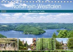 Nordrhein-Westfalen – Die idyllische Seite (Tischkalender 2020 DIN A5 quer) von Becker,  Thomas