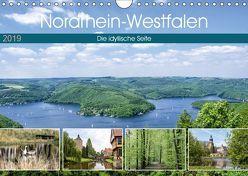 Nordrhein-Westfalen – Die idyllische Seite (Wandkalender 2019 DIN A4 quer) von Becker,  Thomas