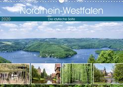 Nordrhein-Westfalen – Die idyllische Seite (Wandkalender 2020 DIN A3 quer) von Becker,  Thomas