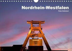 Nordrhein-Westfalen (Wandkalender 2021 DIN A4 quer) von Schickert,  Peter