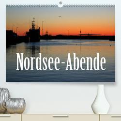 Nordsee-Abende (Premium, hochwertiger DIN A2 Wandkalender 2021, Kunstdruck in Hochglanz) von Reichenauer,  Maria