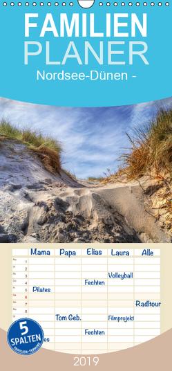 Nordsee-Dünen – Familienplaner hoch (Wandkalender 2019 , 21 cm x 45 cm, hoch) von Roder,  Peter