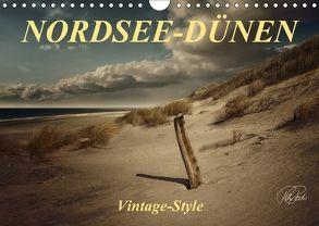 Nordsee-Dünen, Vintage-Style / Geburtstagskalender (Wandkalender 2018 DIN A4 quer) von Roder,  Peter