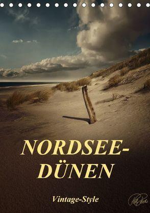 Nordsee-Dünen, Vintage-Style / Planer (Tischkalender 2018 DIN A5 hoch) von Roder,  Peter