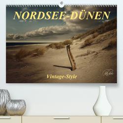 Nordsee-Dünen, Vintage-Style (Premium, hochwertiger DIN A2 Wandkalender 2021, Kunstdruck in Hochglanz) von Roder,  Peter