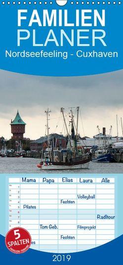 Nordseefeeling – Cuxhaven – Familienplaner hoch (Wandkalender 2019 , 21 cm x 45 cm, hoch) von Adam,  Ulrike
