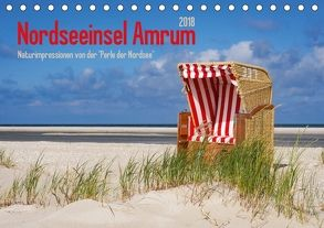 Nordseeinsel Amrum (Tischkalender 2018 DIN A5 quer) von DESIGN Photo + PhotoArt,  AD, Dölling,  Angela