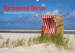 Nordseeinsel Amrum (Wandkalender 2019 DIN A2 quer) von DESIGN Photo + PhotoArt,  AD, Dölling,  Angela