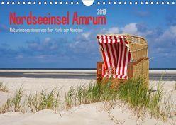Nordseeinsel Amrum (Wandkalender 2019 DIN A4 quer) von DESIGN Photo + PhotoArt,  AD, Dölling,  Angela