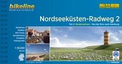 Nordseeküsten-Radweg. 1:75000 / Nordseeküsten-Radweg 2 von Esterbauer Verlag