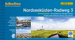 Nordseeküsten-Radweg. 1:75000 / Nordseeküsten-Radweg 3 von Esterbauer Verlag