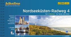 Nordseeküsten-Radweg. 1:75000 / Nordseeküsten-Radweg Teil 4 von Esterbauer Verlag