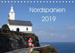 Nordspanien (Tischkalender 2019 DIN A5 quer) von Grosskopf,  Rainer