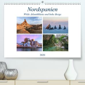 Nordspanien, wilde Atlantikküste und hohe Berge (Premium, hochwertiger DIN A2 Wandkalender 2020, Kunstdruck in Hochglanz) von Kruse,  Joana